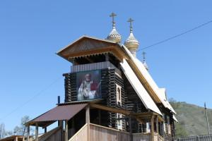 Никольский храм в с.Усть-Кан